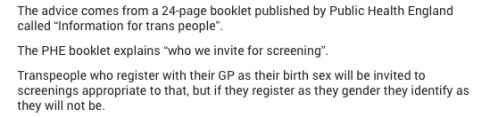 NHS screening gender 2